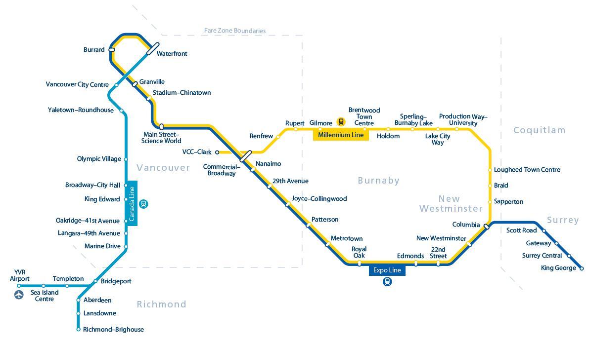 밴쿠버 지하철 맵.JPG